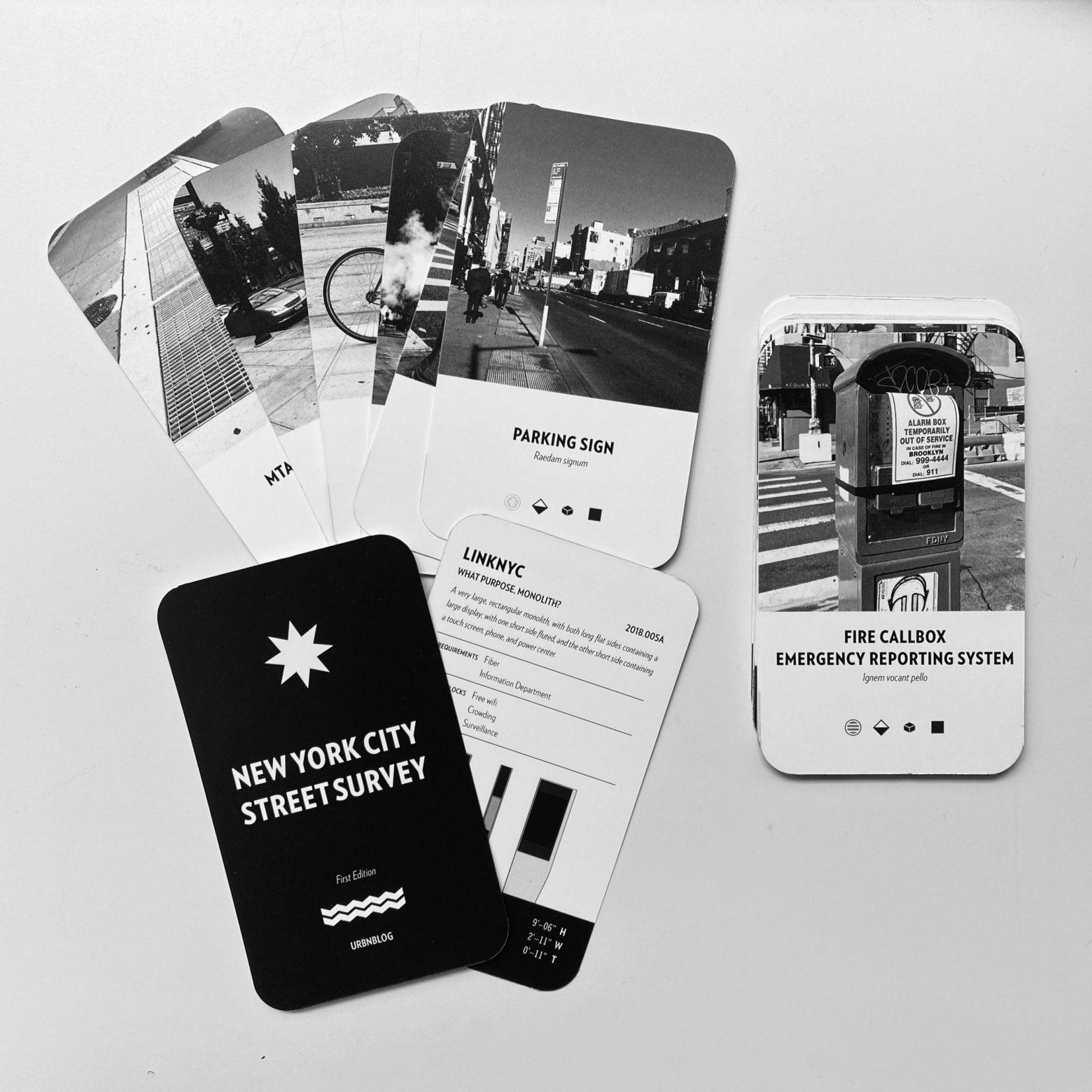 New card deck mockup