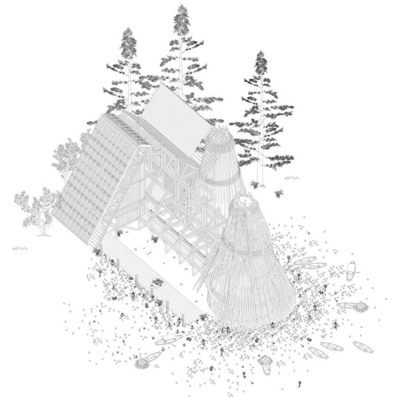 Arinjoy Sen: Spatial Typology 5 // The Fisherman A Construction of Time