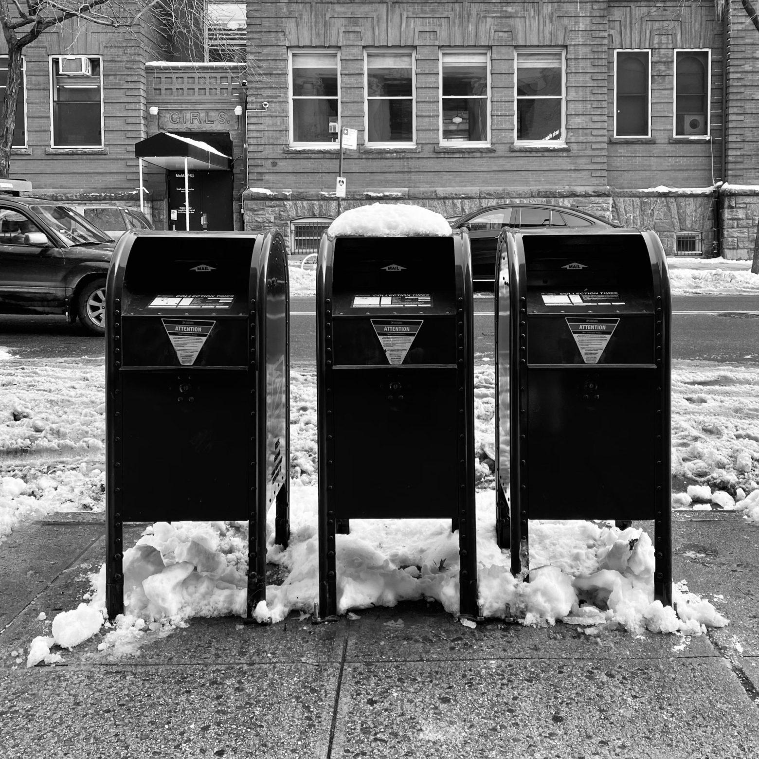 USPS Mailbox Receptacle