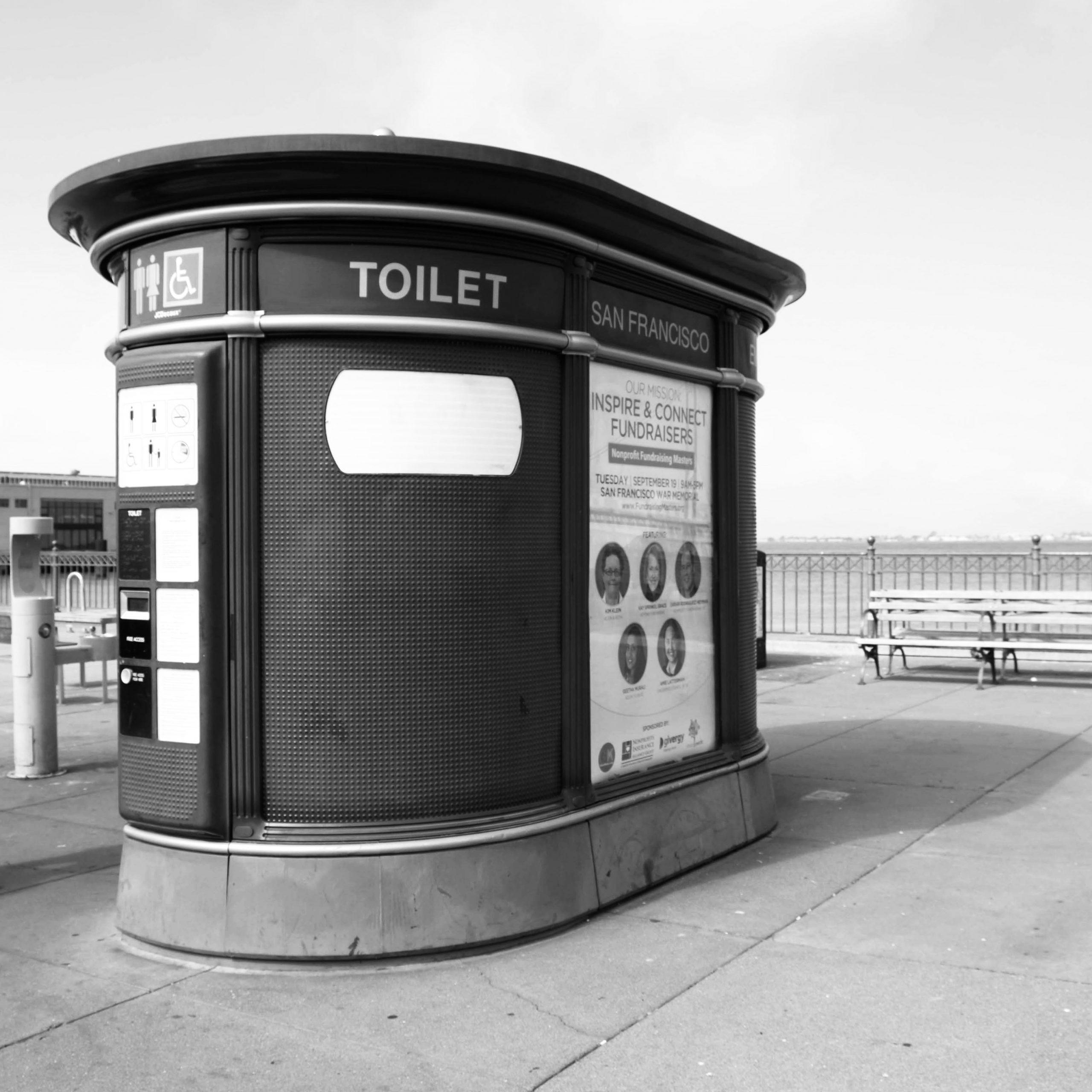 San Francisco JCDecaux Public Toilet