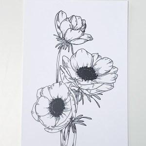 Blumenillustration