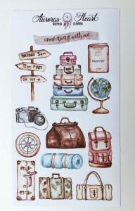 BuJo Bullet Journal Travel Journal