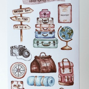 BuJo Bullet Journal Travel Journal