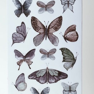 Schmetterling Sticker BuJo
