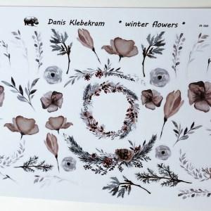 Florale Sticker Danis Klebekram