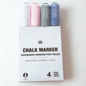 chalk marker lettering window Kids fun DIY project