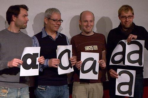 16. Berliner Typostammtisch: Vier Comic-Font-Schriftgestalter