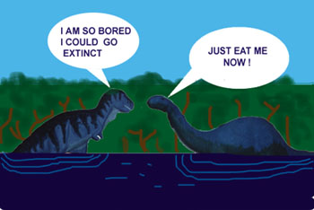Image result for dinosaurs as swamp dwellers