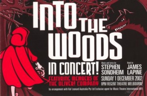 Into the Woods in Concert
