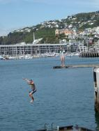 0010. People swimming in Wellington harbour (Copy)