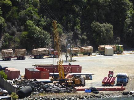 0285. Bye bye logging lorries