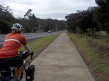 141. Lake Tabourie cyclepath