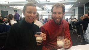 199. Anzac day breakfast at the Epping RSL (rum & milk)