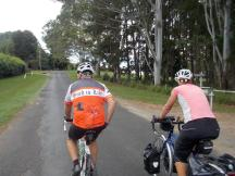 128. Riding with Michael to Byron Bay