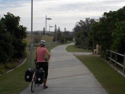 134. Bike path through Kingscliffe