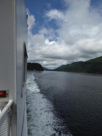 044. Leaving Earls Cove