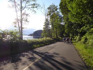 063. Quadra Island Wednesday night group ride