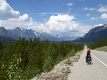 128. Climbing away from the Athabasca River