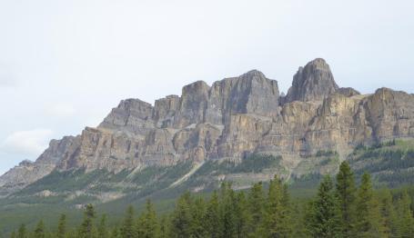 185. Hills above Castle Junction