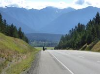197. Climbing out of the Kootenay River valley from Fort Steele