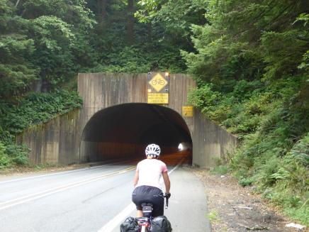 007. Tunnel on the way to Nehalem Bay