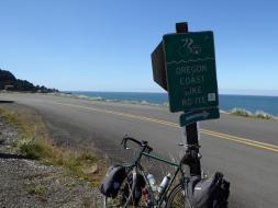 031. Start of the Otter Crest road