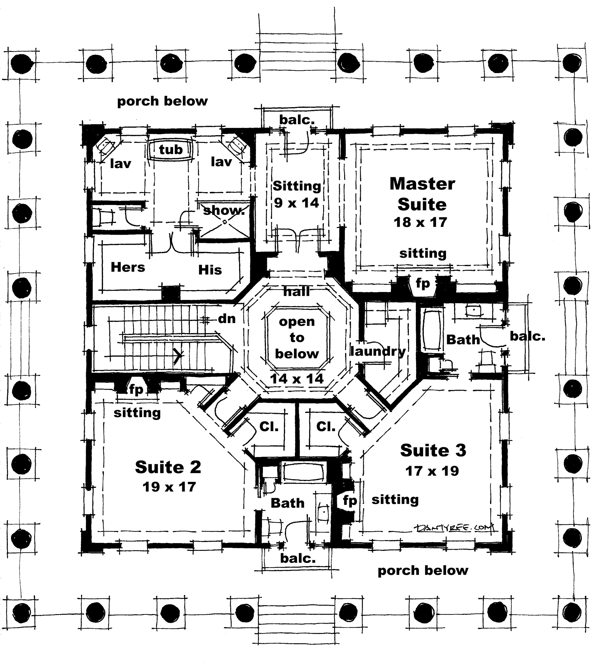 Edward Stephen House Plan By Tyree House Plans