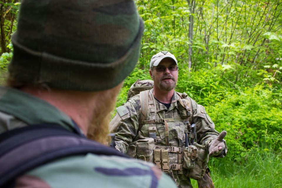 Tactical Tracking Course Instructed by John Hurth of TYR Group LLC