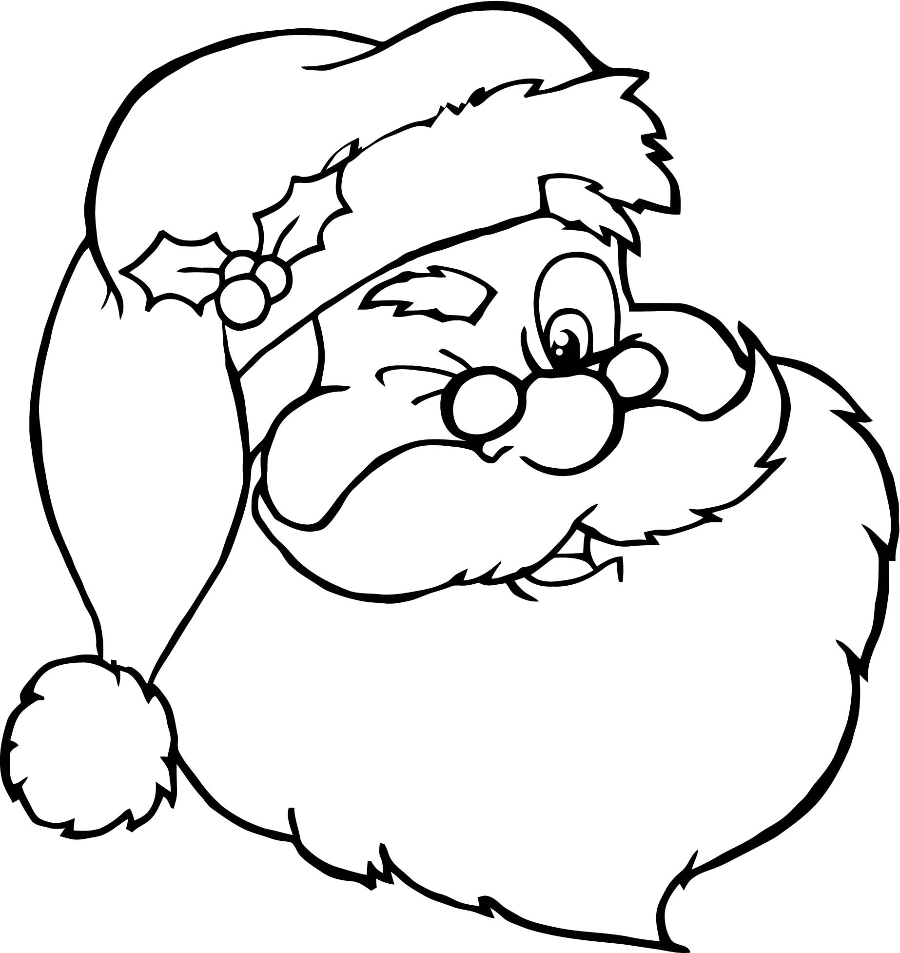 geography blog santa claus coloring pages