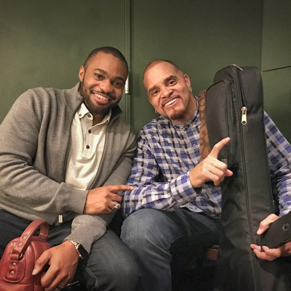Celebrities Sinbad Tyrone Smith Carolines NYC musicians