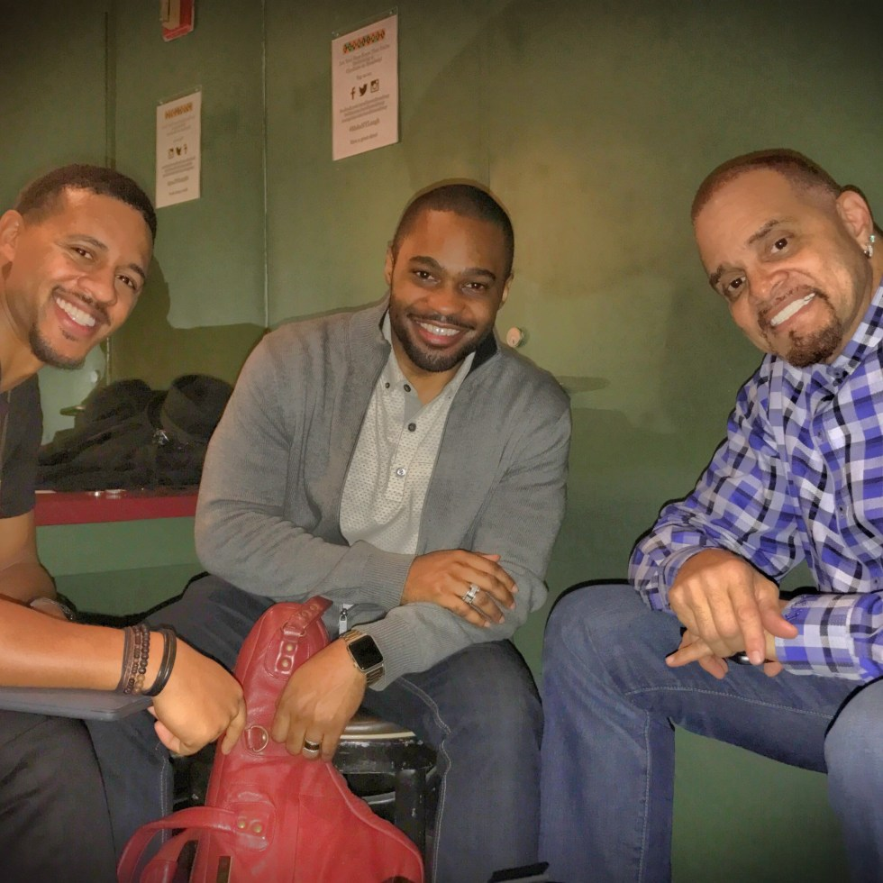 Live to Give Sinbad Tyrone Smith Chase Anthony Carolines nyc comedy