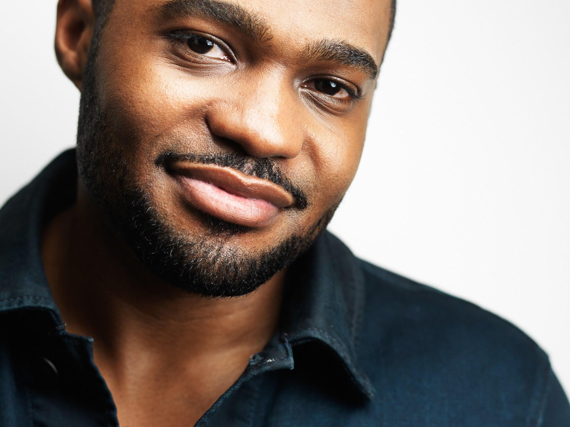 celebrities Tyrone Smith in Mavi Jeans Jacket shot by Jeffrey Mosier Photography