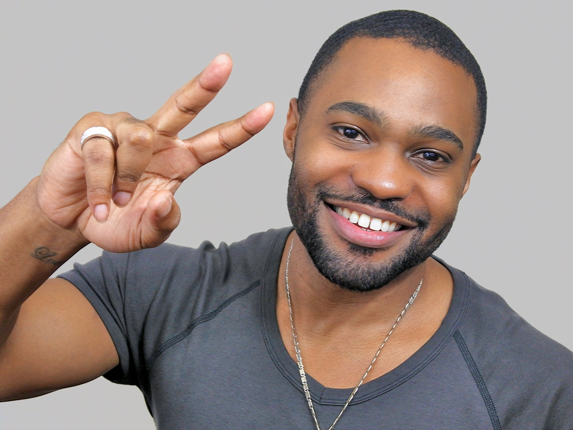 Peace and Love from celebrities social media public figure Tyrone