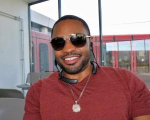Celebrity music producer Tyrone Smith in Berlin Germany