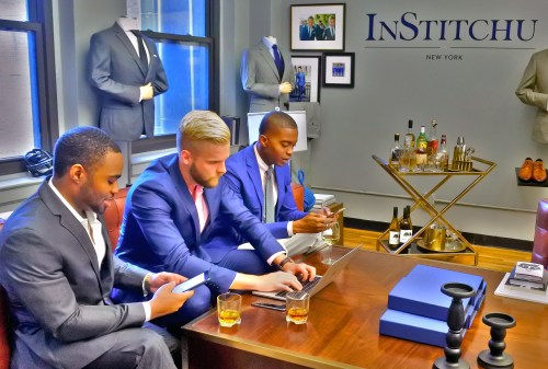 InStitchu Live Twitter Chat with celebrity GQ influencers Tyrone Smith Igee Okafor and Bryan Griffin