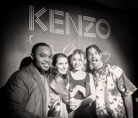 Kenzo Paris NYFW Naomi Yasuda Tyrone Smith fashion week