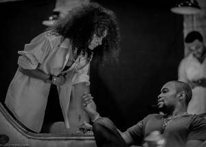 Clayton CArr captures Jenny Bapst and Tyrone Smith