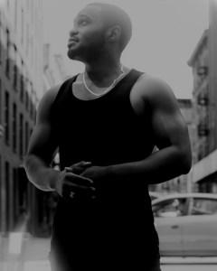 Manhattan traffic wearing G-Star Raw Tyrone Smith shot by Mark Luckasavage