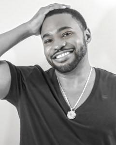 1 person, smiling, G-Star Raw, Tyrone Smith, celebrity, musician, producer, composer, and influencer