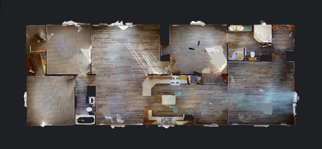 mobile homes floor plan