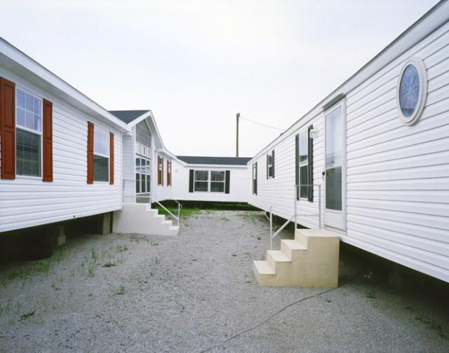 Three Trailer Homes