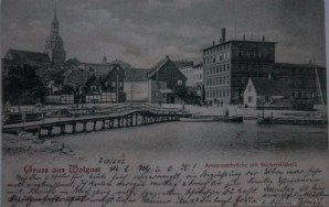 Stickereifabrik und Amazonenbrücke