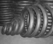 Different sizes of inner tubes