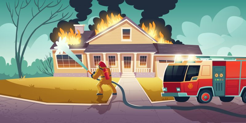 house fire can destroy your tax records