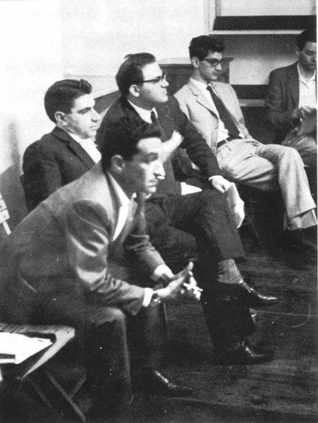 Raniero Panzieri, Tronti, Gaspare De Caro, Toni Negri (Torino, 1962)