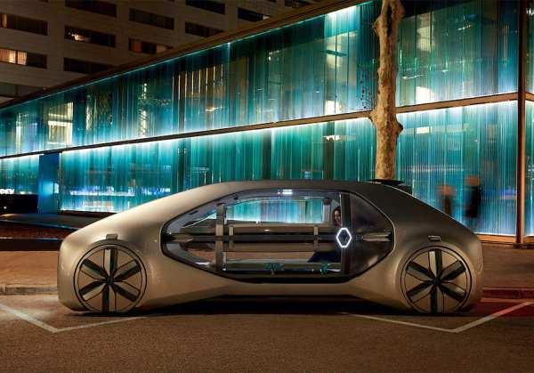 Renault привезла на автосалон в Женеву свой концептуальный автомобиль EZ-GO