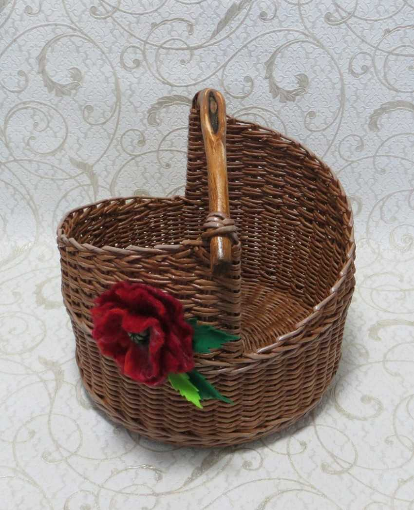 разнообразных плетеные изделия из газет фото слову, валерия
