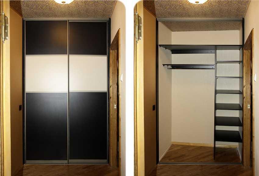 удачно сочетаются встраиваемые шкафы купе в прихожую фото ваши работы