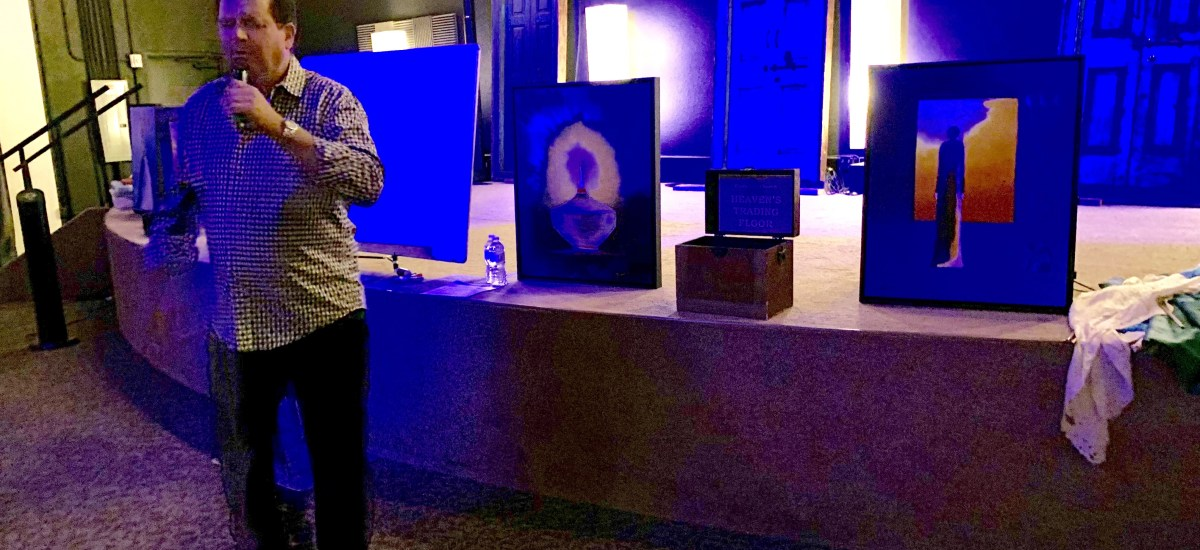 Day 2 at Glory Fire Church Engaging The Living Letters The Vault of Heaven Inside of Us