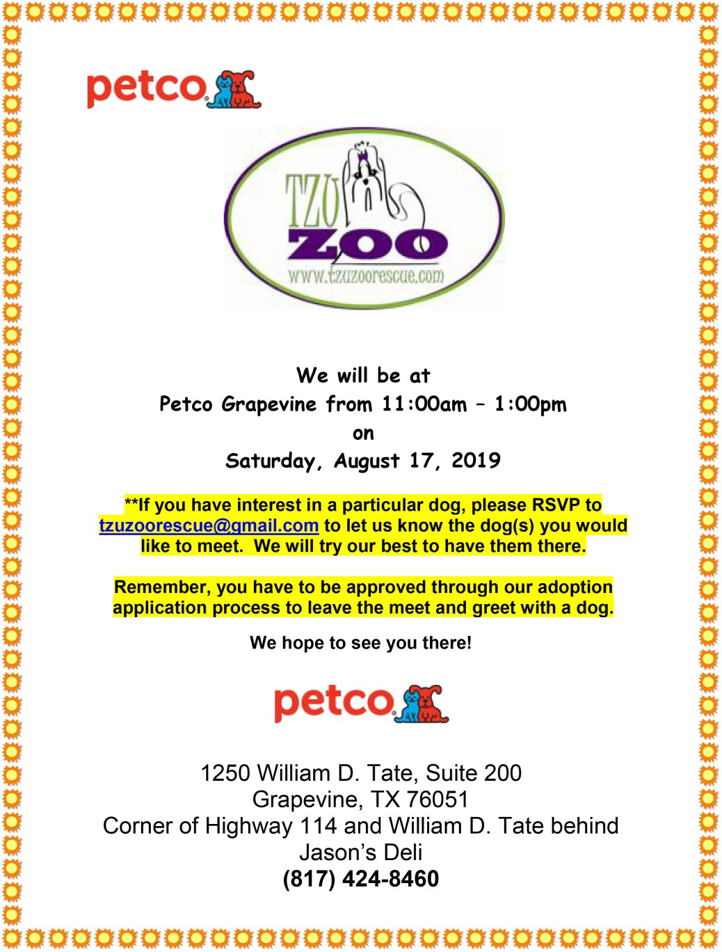 Meet & Greet, Petco-Grapevine